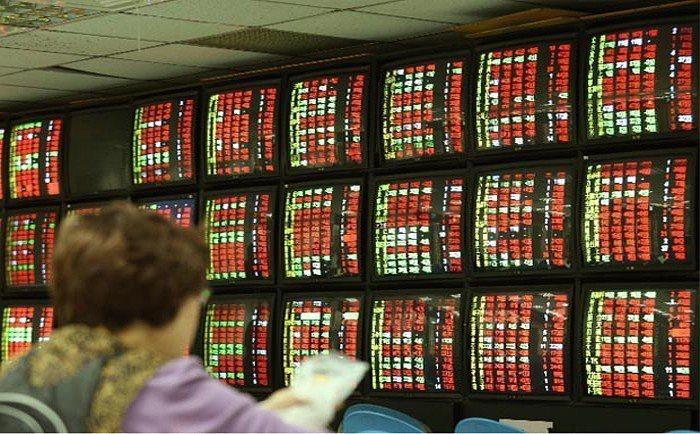台股今日開盤指數9,719.46點,上漲34.74點。聯合報系資料照