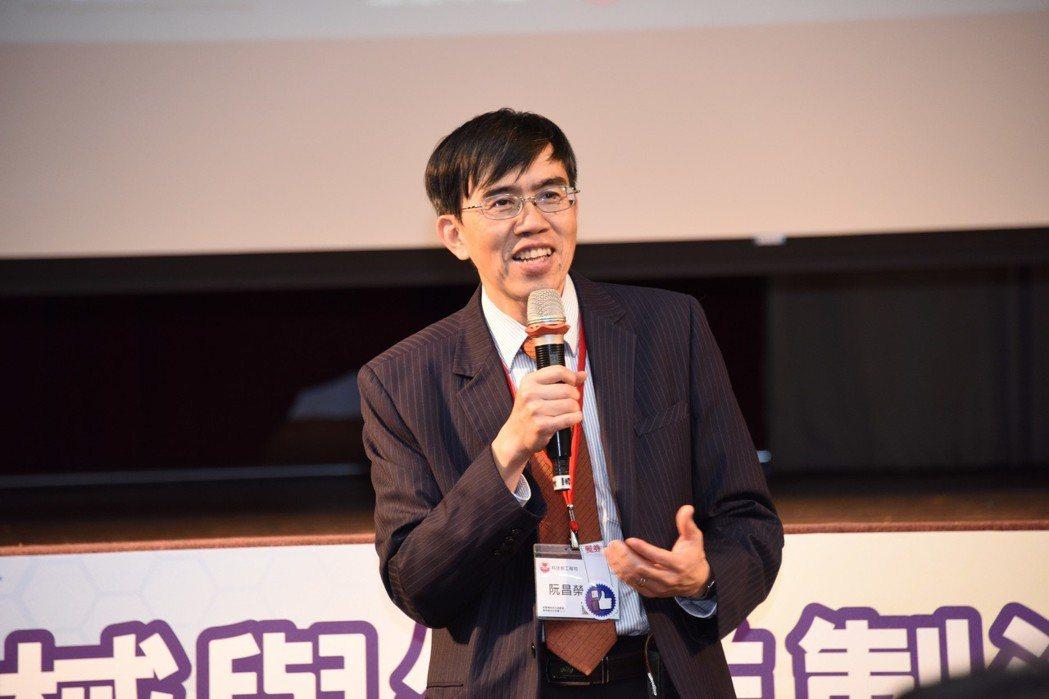 科技部工程司研究員阮昌榮。工程中心/提供