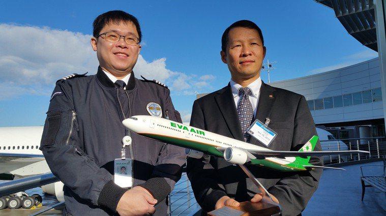 星宇航空董事長張國煒(左)曾說,一直以來鄭傳義(右)是他在長榮非常親密的合作夥伴...
