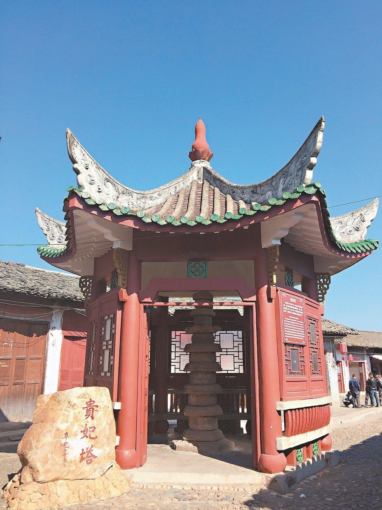 珠璣巷貴妃塔,是廣東唯一有年代記載的元代石塔。記者汪莉絹/攝影