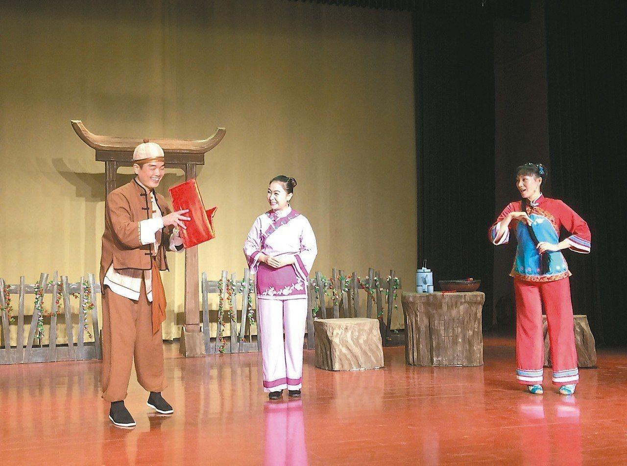 粵北採茶戲,強調活潑歡快的特色。記者汪莉絹/攝影