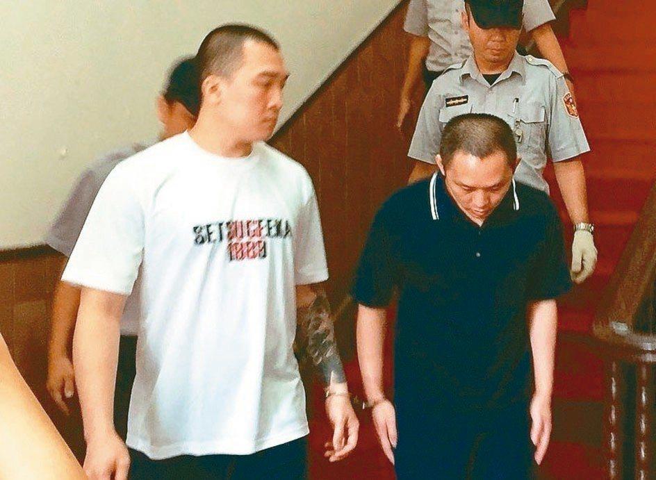 沈文賓(右)溺殺2人五度判死,最高法院今仍讓他逃死。 圖/聯合報系資料照片