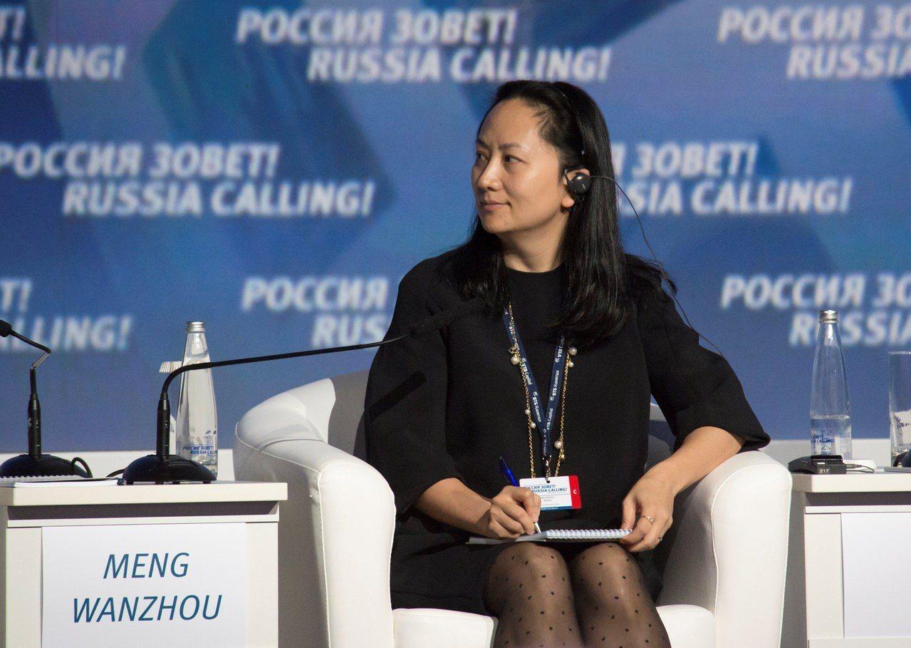 中國華為集團創辦人之女孟晚舟1日在加拿大被捕。路透