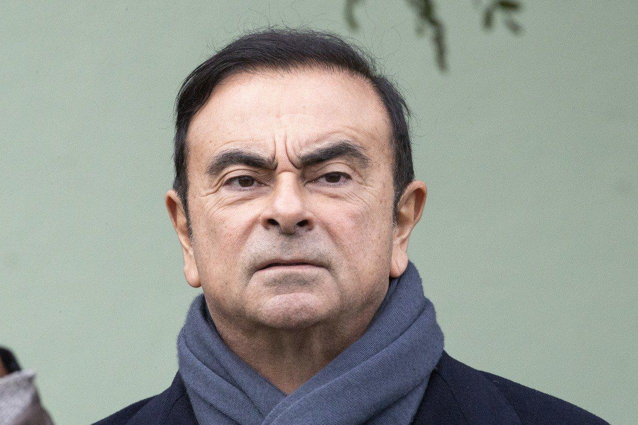 黎巴嫩裔前董事長戈恩(Carlos Ghosn)。 歐新社
