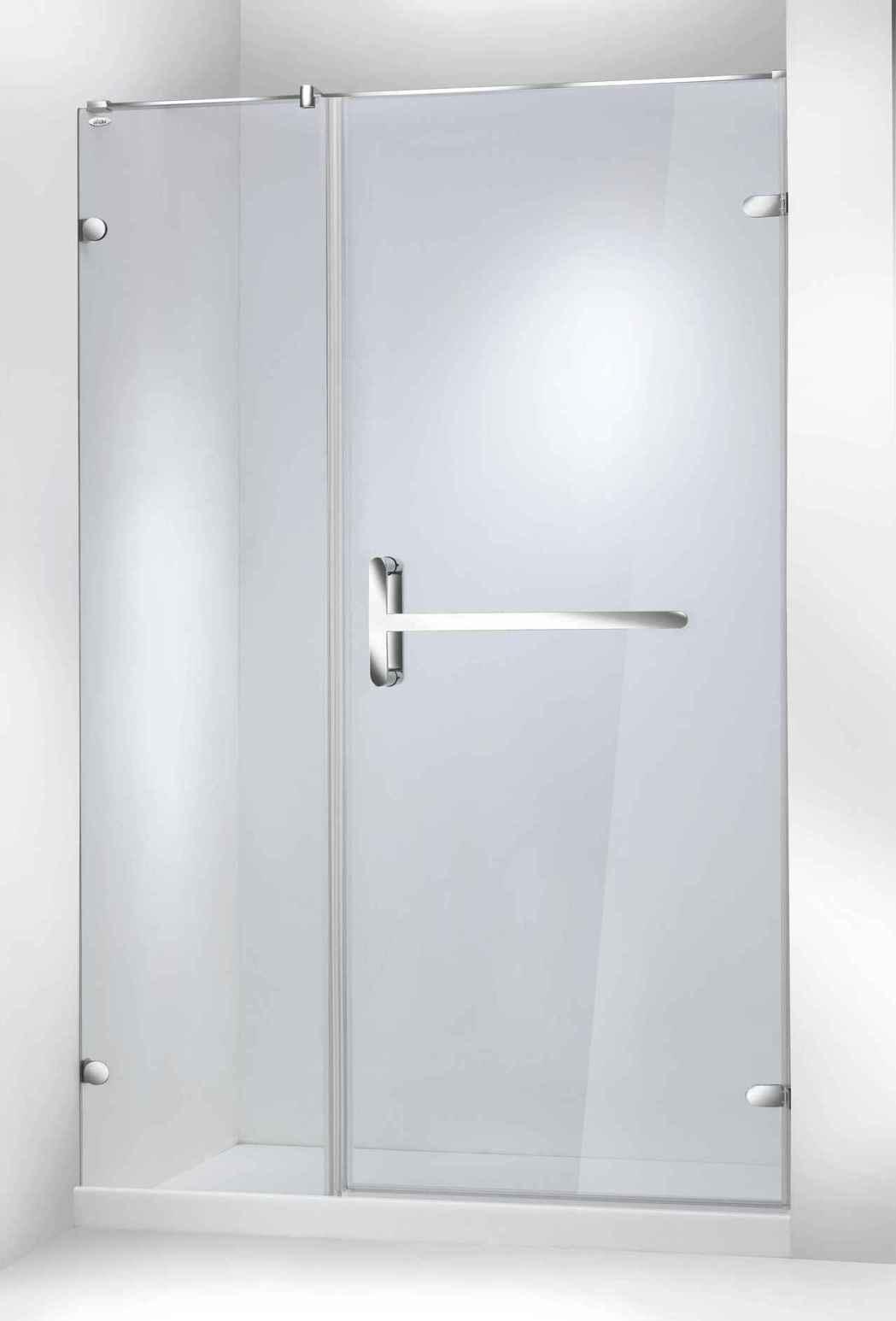 ITAI2019新款內外推拉式淋浴拉門。 一太e衛浴/提供