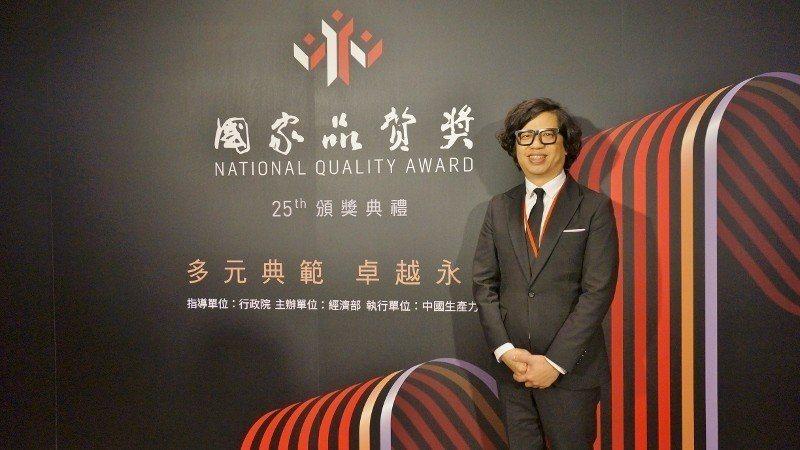 葛望平努力經營企業,在國際爭光,也不斷獲國家級獎項肯定。 徐谷楨/攝影