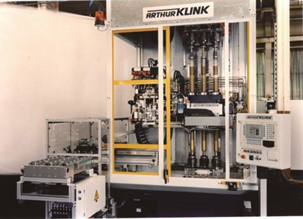 德國Arthur-Klink集團的CNC拉床。 渼科斯/提供