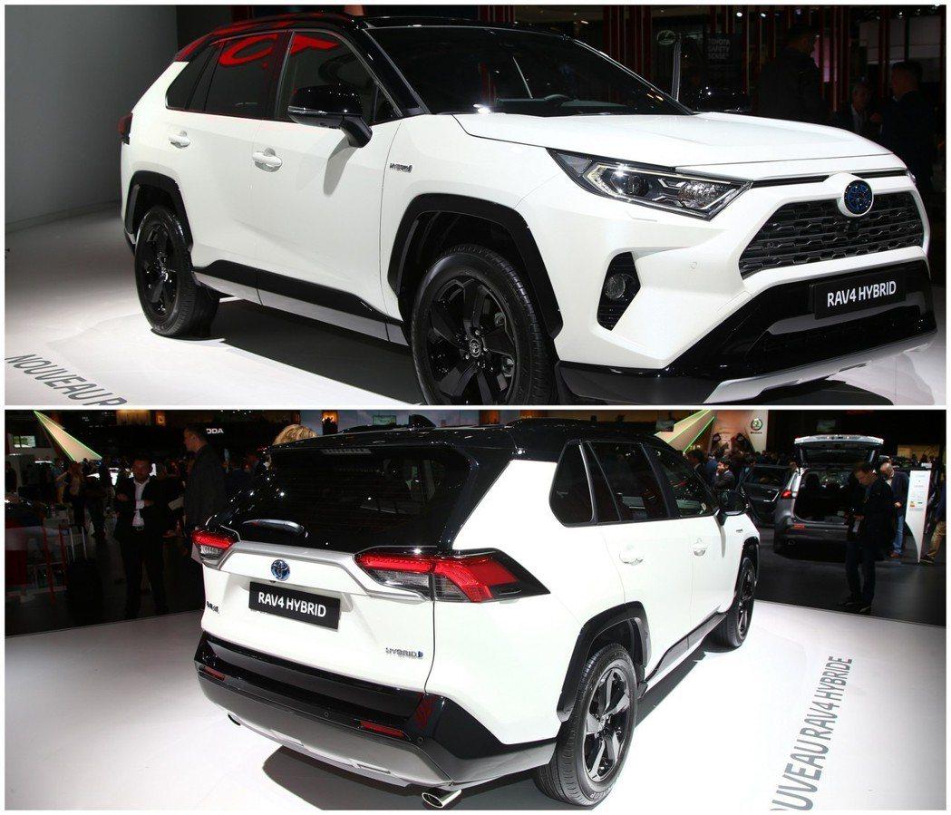 新世代歐規Toyota RAV4 Hybrid在巴黎車展正式發表。 摘自Cars...