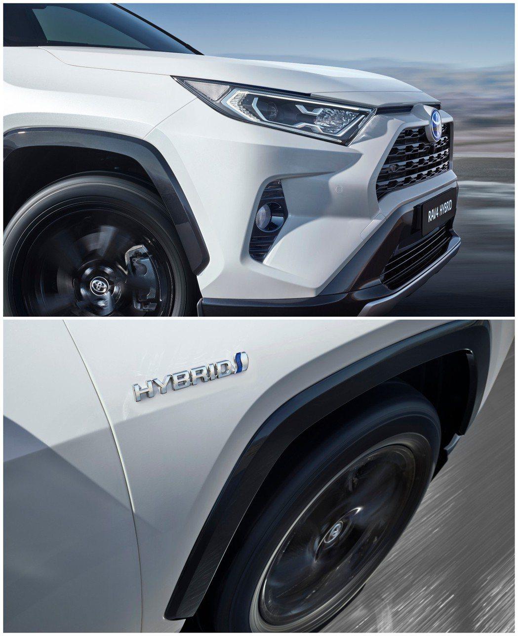 新世代歐規Toyota RAV4 Hybrid。 摘自Toyota