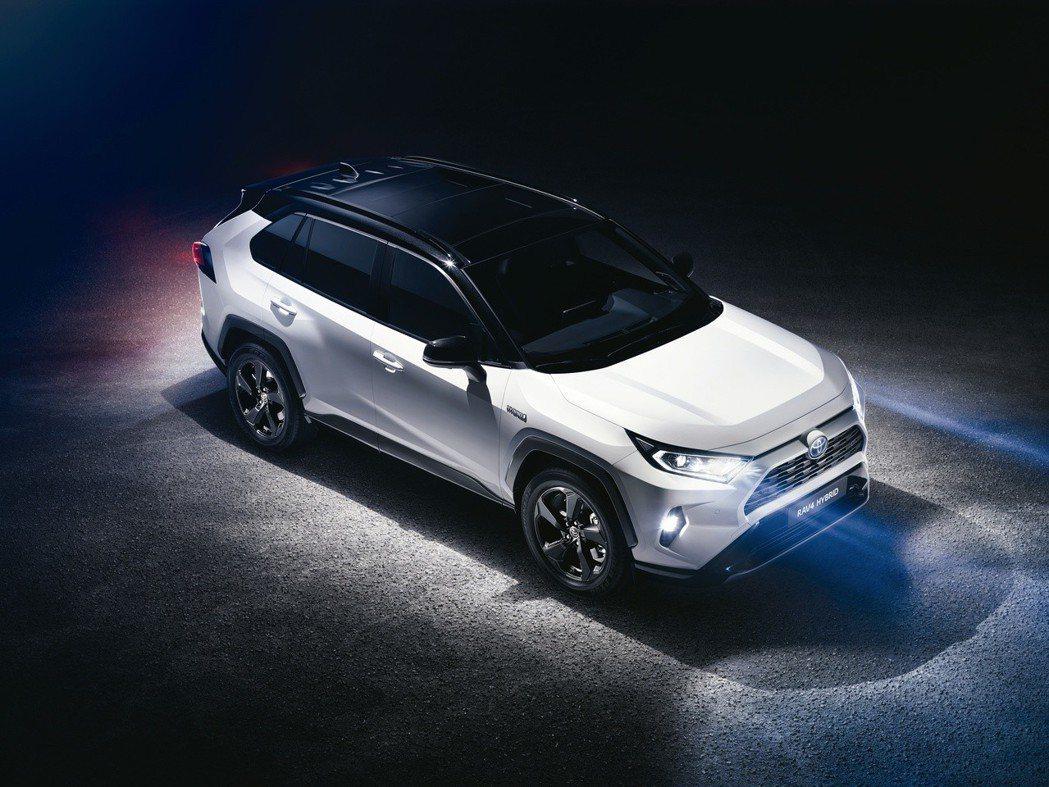 將於英國上市的新世代Toyota RAAV4 Hybrid,全車系標配TSS 2...