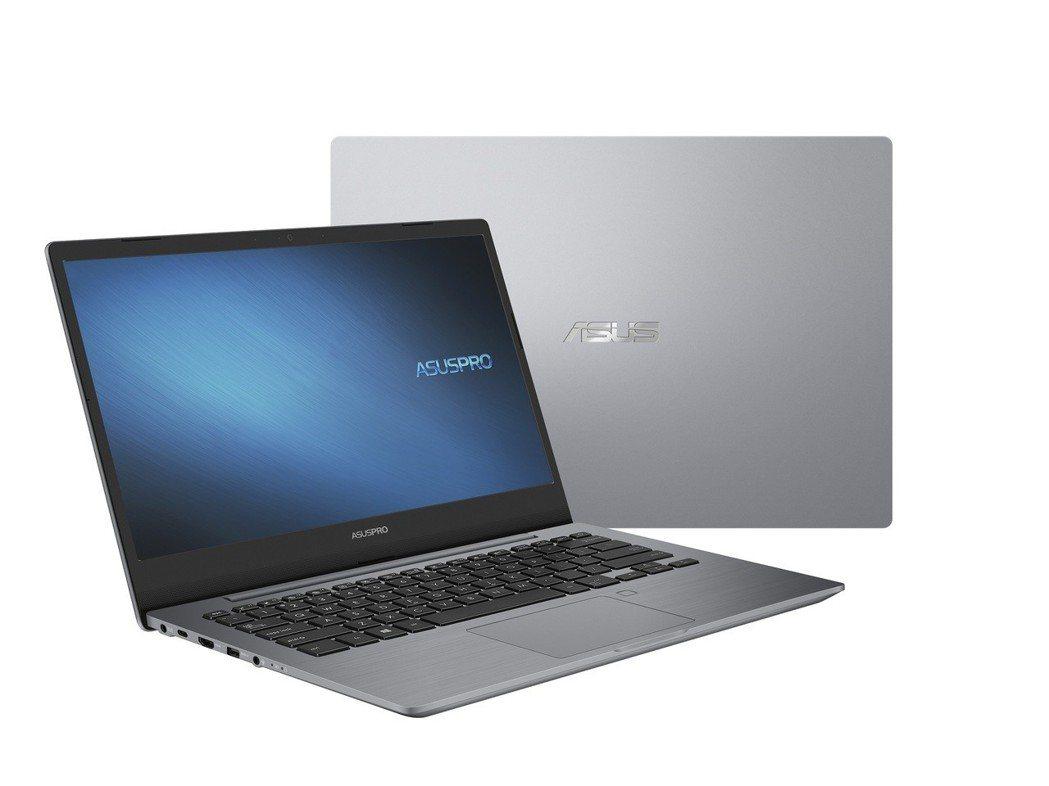 華碩商用筆電連續10年稱霸台灣市場,圖為ASUSPRO P5440。 華碩/提供