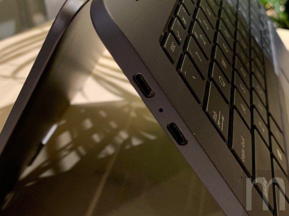 左側搭載USB-C 3.1連接埠,並且對應QC4+快速充電、螢幕畫面輸出等功能