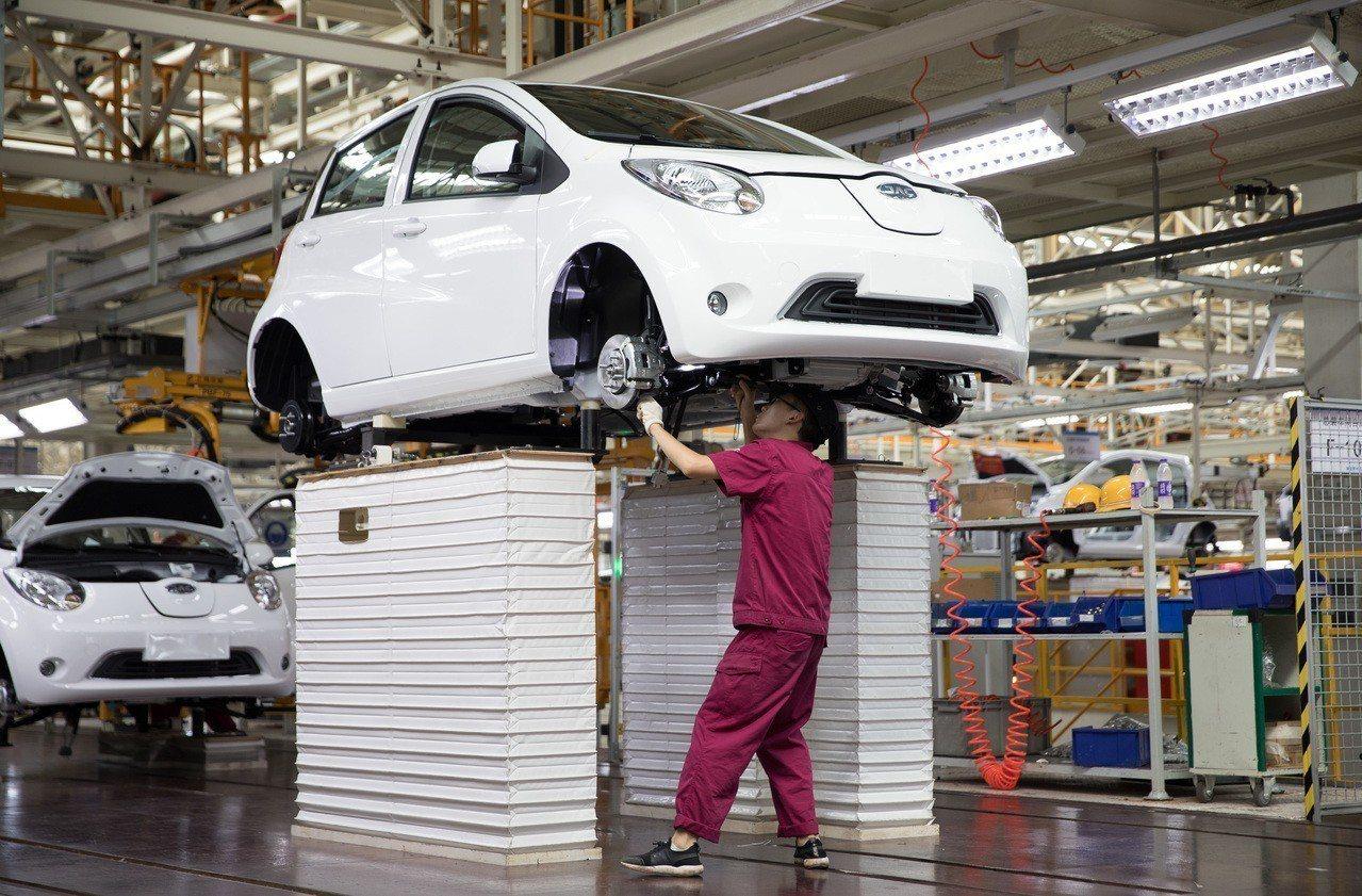大陸工信部發布新規定,首次明確允許汽車代工生產,汽車今後將可以像手機一樣,委託加...