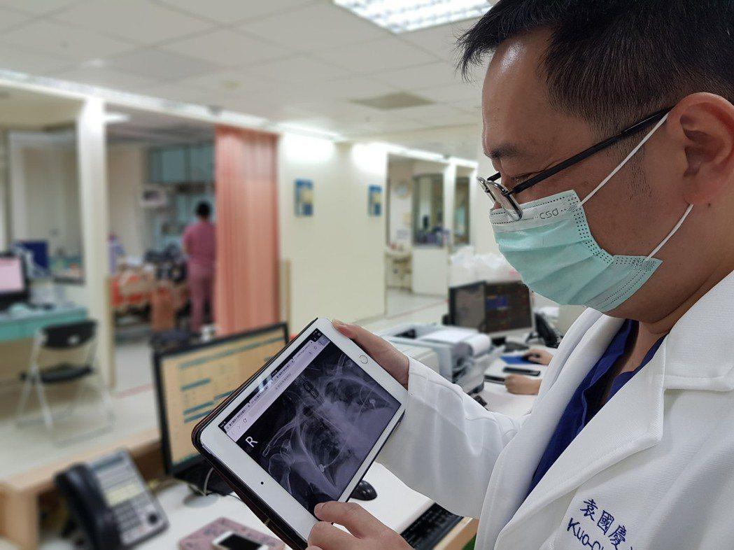 台北醫學大學附設醫院與台灣人工智慧實驗室合作開發人工智慧算法與系統,並實際應用於...