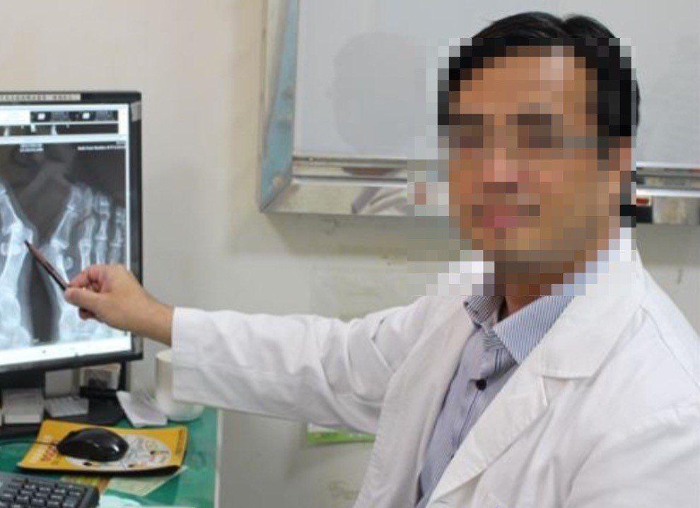 去年在衛福部某醫院服務的吳姓女醫師告洪姓醫師(右)誹謗。圖/衛福部提供