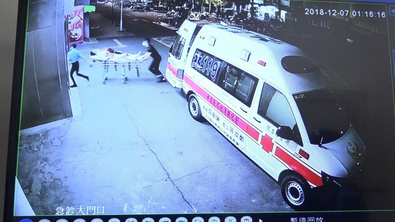 吳姓死者傷重被送往彰化醫院救治。記者林敬家/翻攝