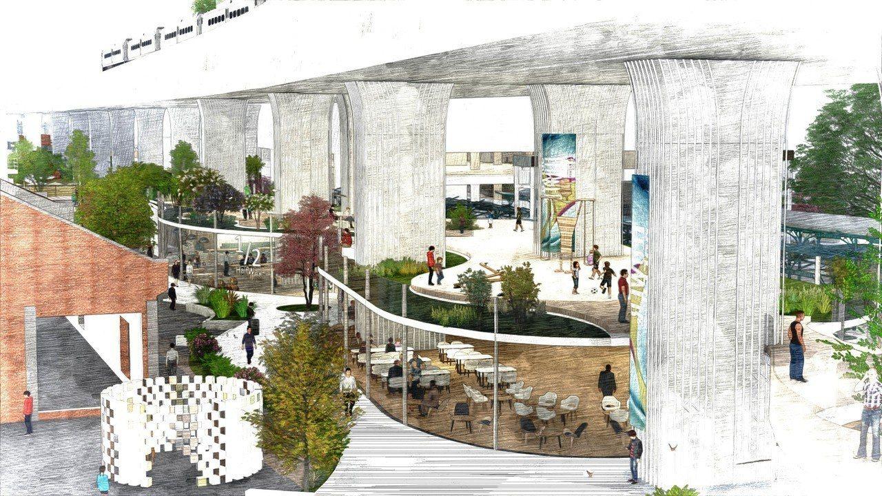 臺中車站鐵道文化園區將由經典國際公司(德昌營造團隊)投入至少30億元資金進行整體...