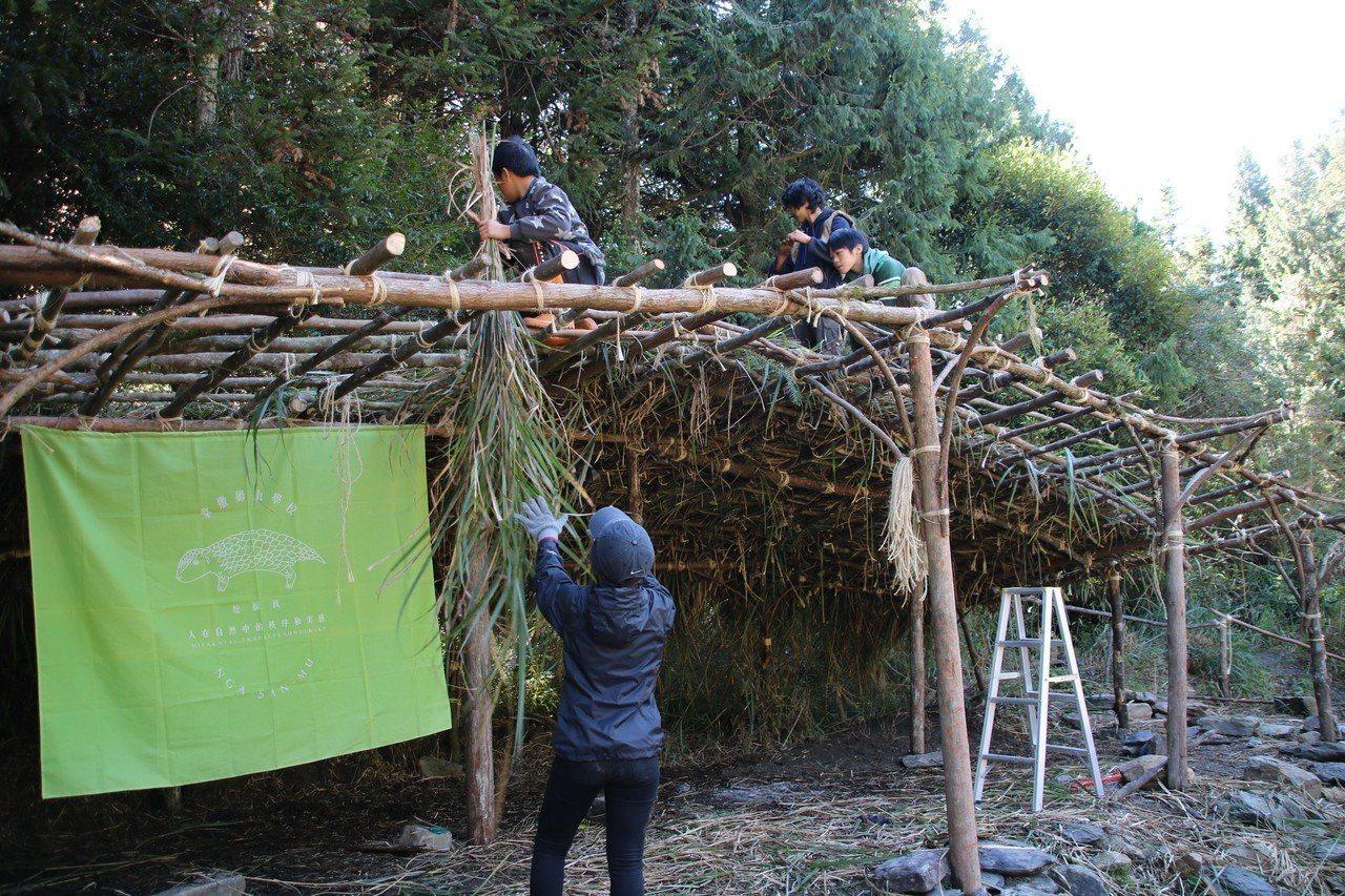「Nga-San-Mu Studio—獵人庇護所」是大型公共藝術創作,除25位在...