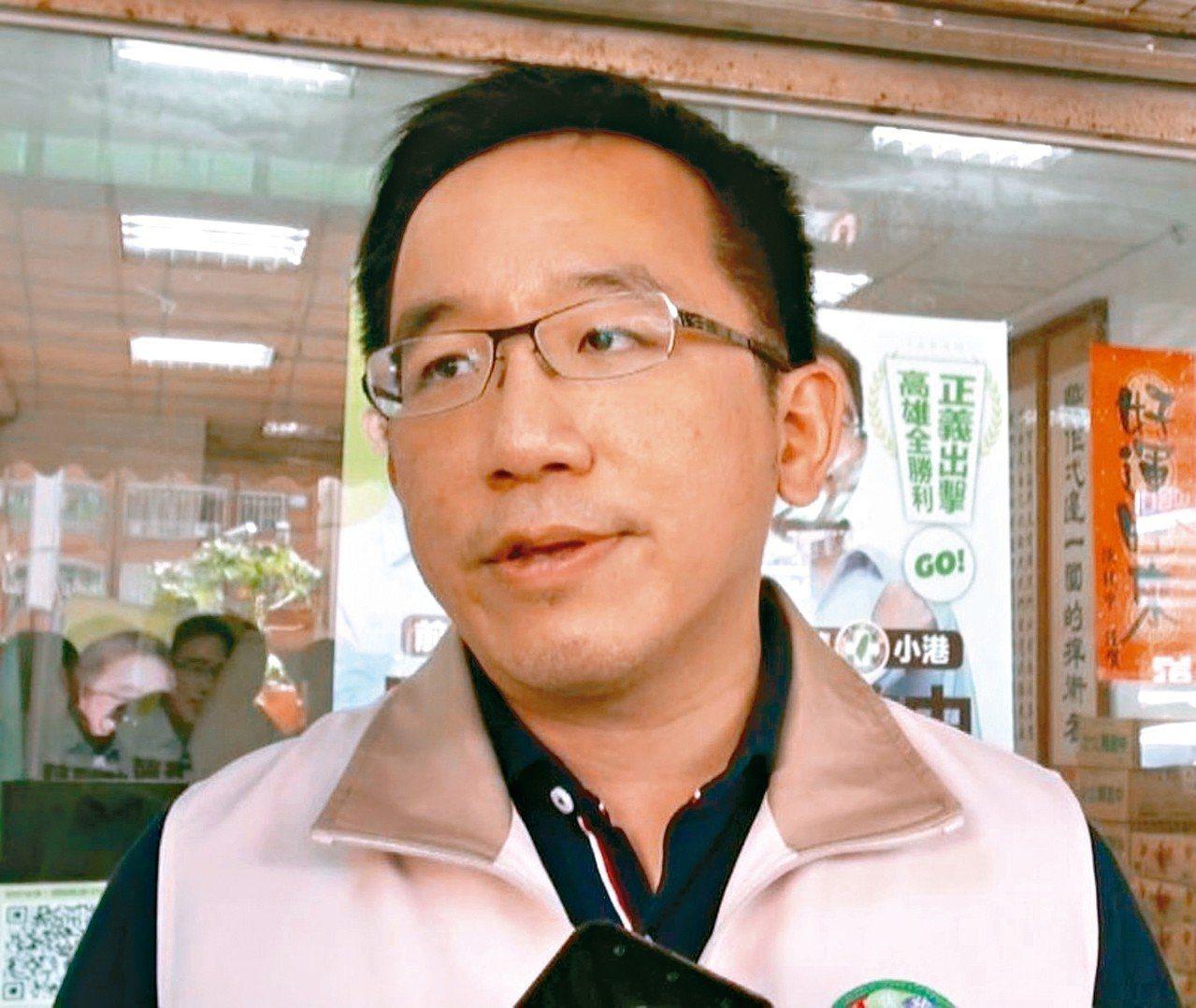 前總統陳水扁之子、高雄市議員陳致中。圖/聯合報系資料照