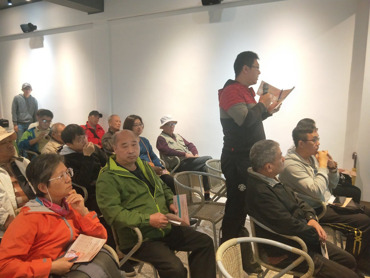 北海岸反核行動聯盟、金山開門今天在金山故事館,邀請北海岸鄉親參加在地對談,及該如...