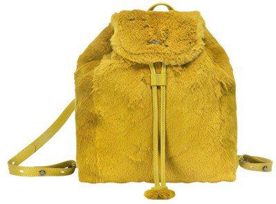 Give Me A Hug水桶包(蜂蜜色、天空藍),售價9,450元。圖/LON...