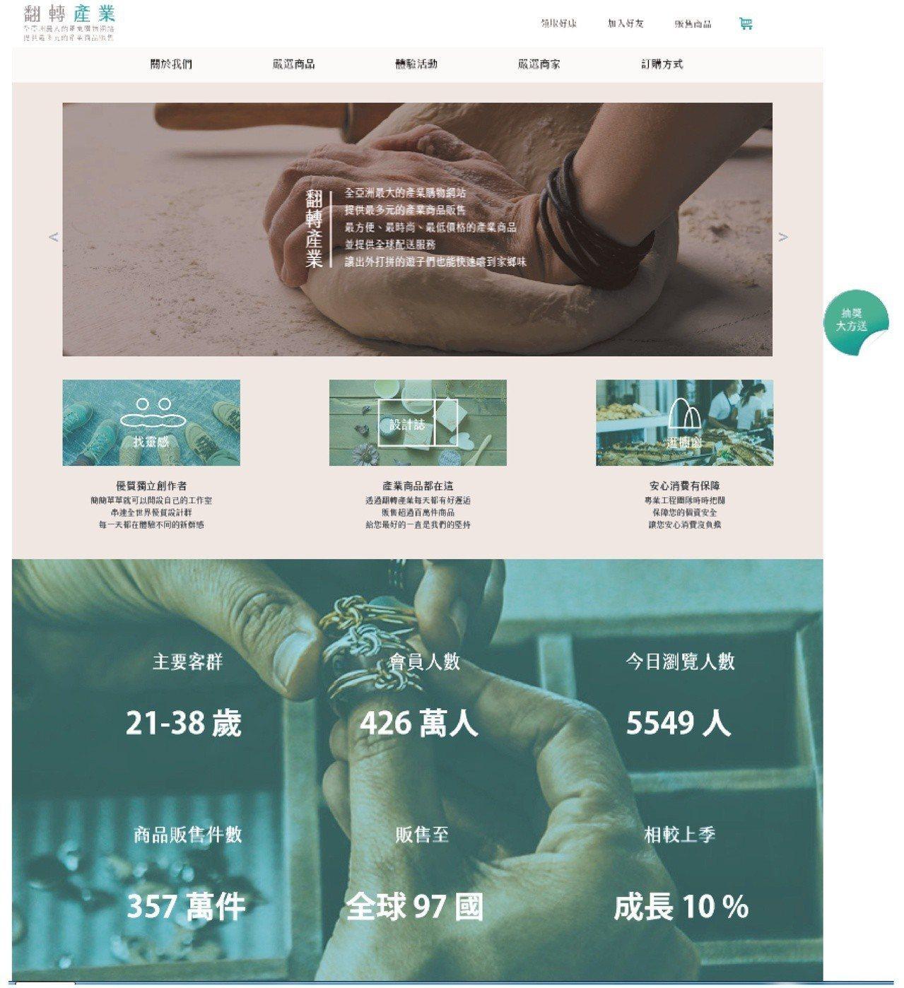 陳怡琳作品除了網頁技術應用與互動性表現優異,主題契合度與視覺的創意表現更為吸睛,...