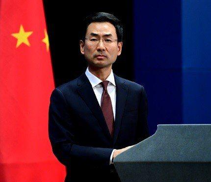 中共外交部發言人耿爽確認華為副董事長孟晚舟是中國公民。(中共外交部官網)