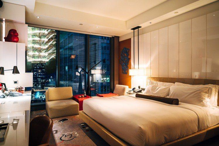 W Hotel今年跨年夜每晚約6萬元起。圖/W HOTEL提供