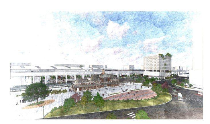 台中火車站是國定古蹟,台鐵局以促參案形式由德昌營造獲選,將投資31億元打造「台中...