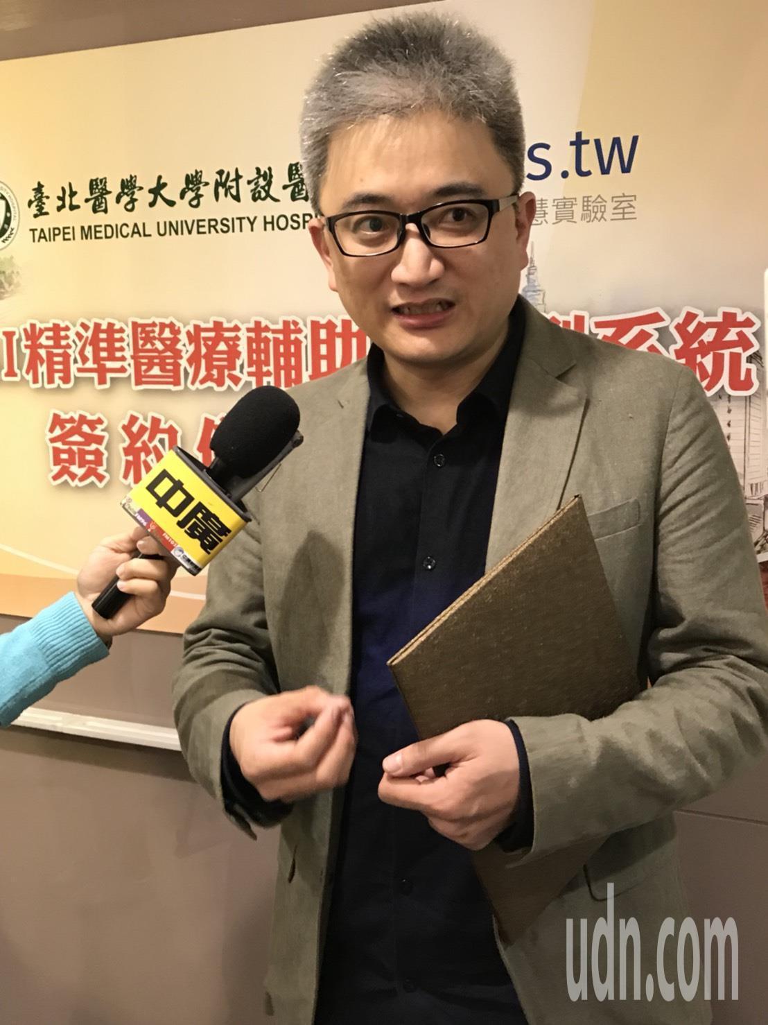 被稱為PTT創世神的杜亦瑾,今出席合作記者會時說,希望利用AI人工智慧的判讀,來...
