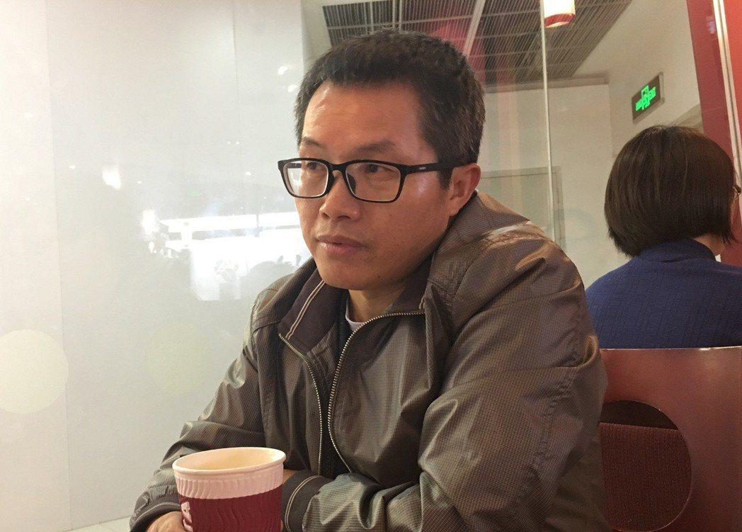 中共中央黨校校刊《學習時報》前副編審鄧聿文。特派記者林庭瑤/攝影