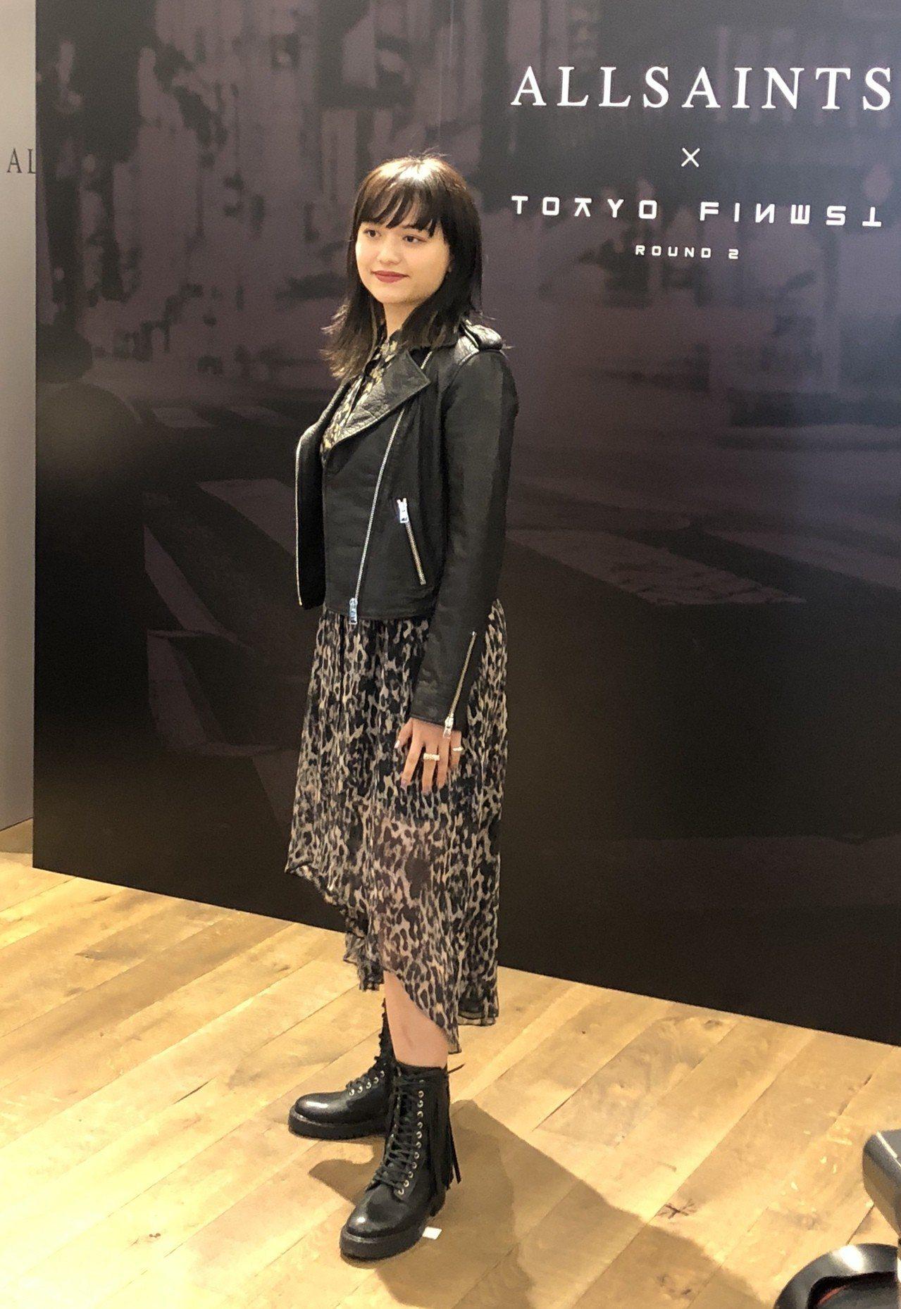 日本歌手iri受邀來台將於Tokyo Finest登場,在正式公演前於AllSa...