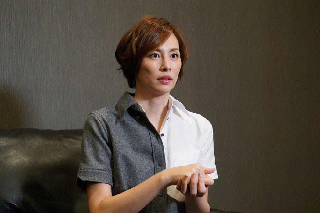 米倉涼子接受訪問。圖/KKTV提供