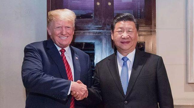 日前中國大陸國家主席習近平(右)與美國總統川普(左)於G20舉行會談。 (新華網...