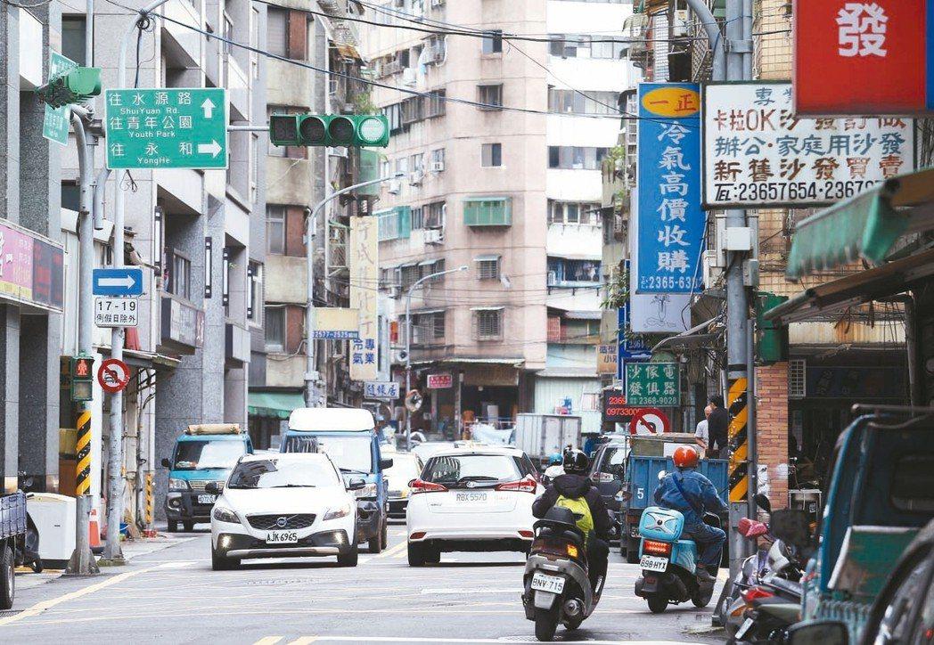 台北市廈門街街景。 記者杜建重/攝影