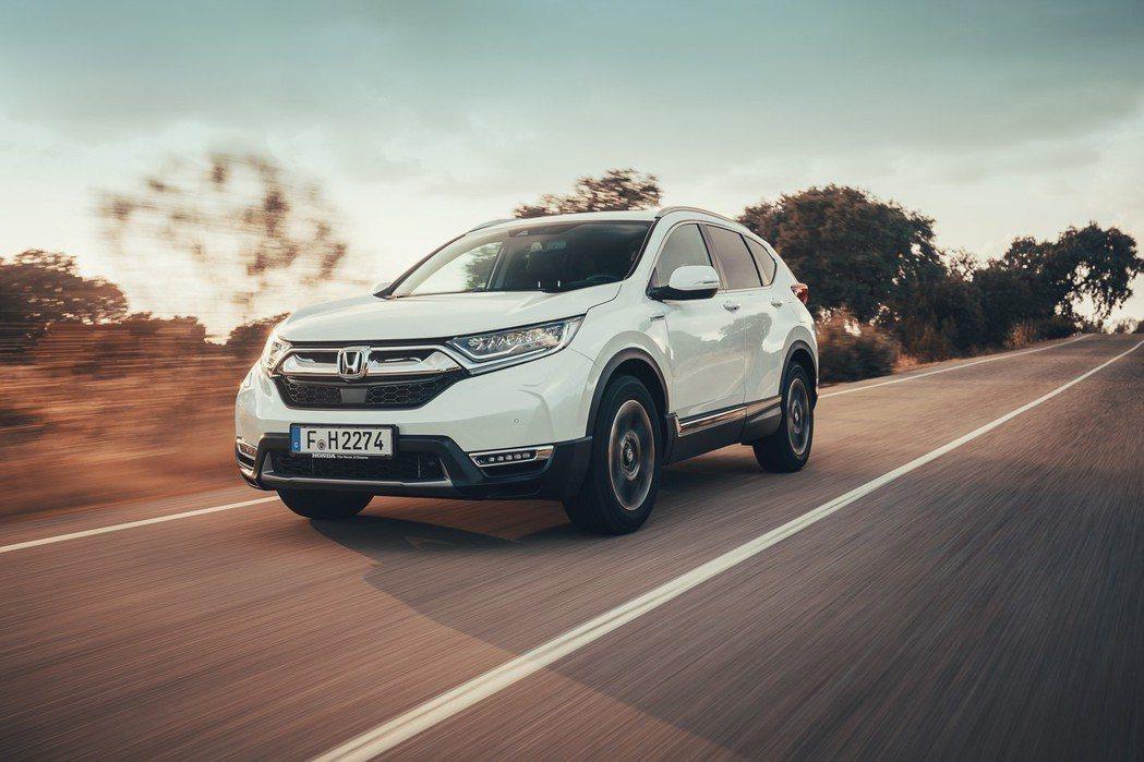 歐規Honda CR-V Hybrid在今年巴黎車展正式發表。 摘自Honda