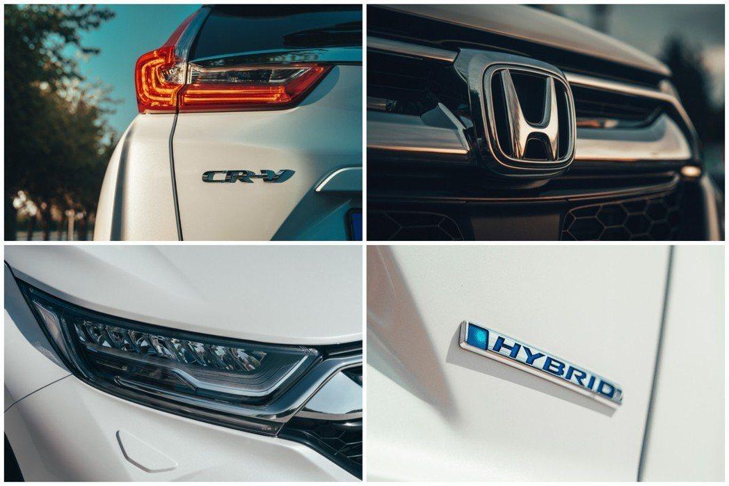 Honda CR-V Hybrid與汽油版的造型並無太多差異,但是油電版車型多了...