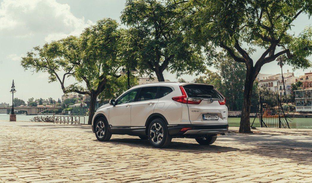 歐規Honda CR-V Hybrid。 摘自Honda