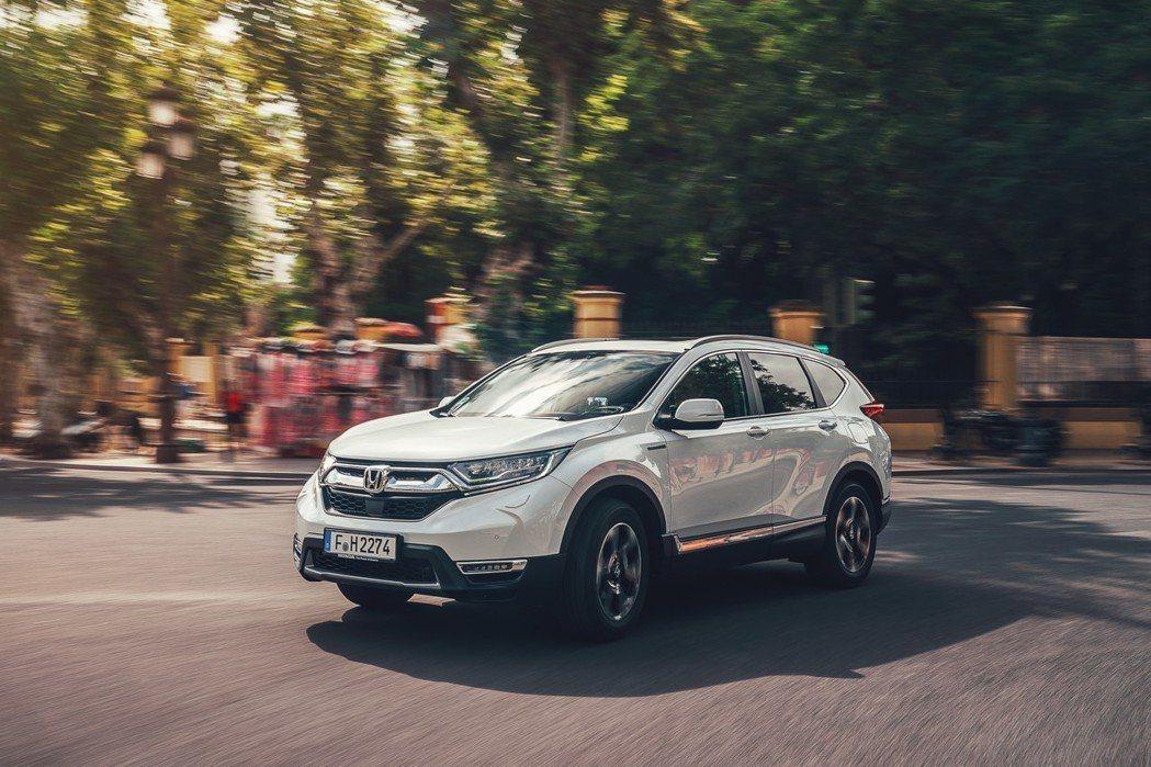 Honda CR-V Hybrid英國售價出爐。 摘自Honda