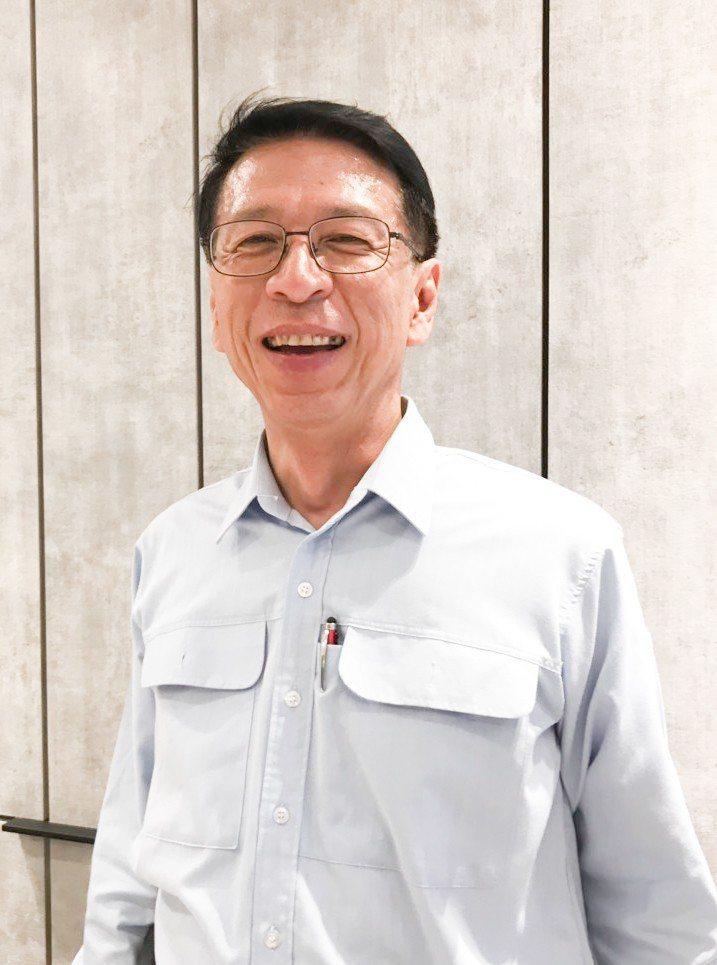 中欣開發副總經理蔡宗達對「欣灣時代」熱銷,表示「超乎預期」。 攝影/張世雅