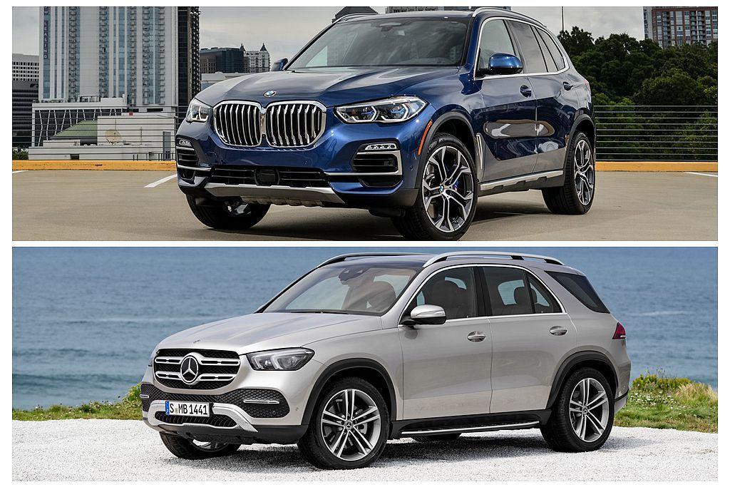 身為品牌休旅開創者的BMW X5、賓士GLE,在今年不約而同發表全新第四代車型且BMW X5即將在台發表外,賓士GLE則是在明年跟進。 圖/BMW、Mercedes-Benz提供