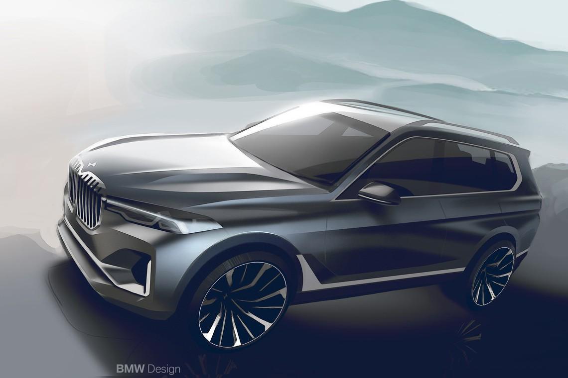 原來X7不是最豪華 BMW全新休旅X8傳2020年問世?