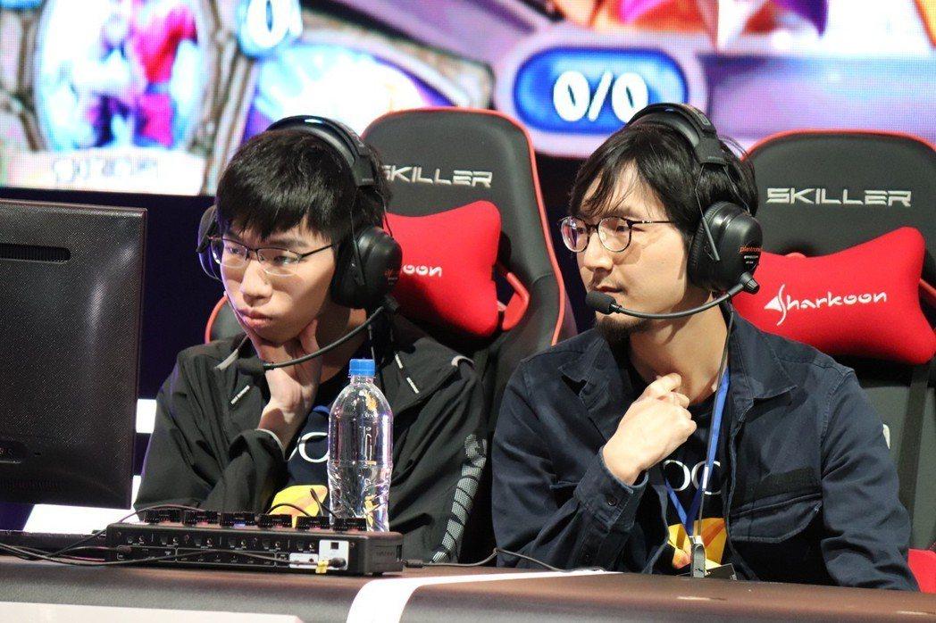 香港隊(左:kin0531、右:Shy)