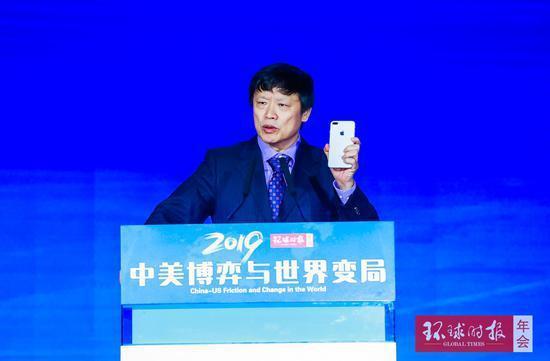環球時報總編輯胡錫進被曝是用iPhone,而非華為或中興手機發微博挺華為,被中國...