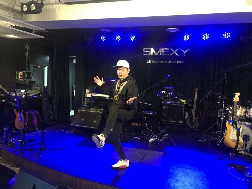 康康今舉辦新歌發表會。記者梅衍儂/攝影