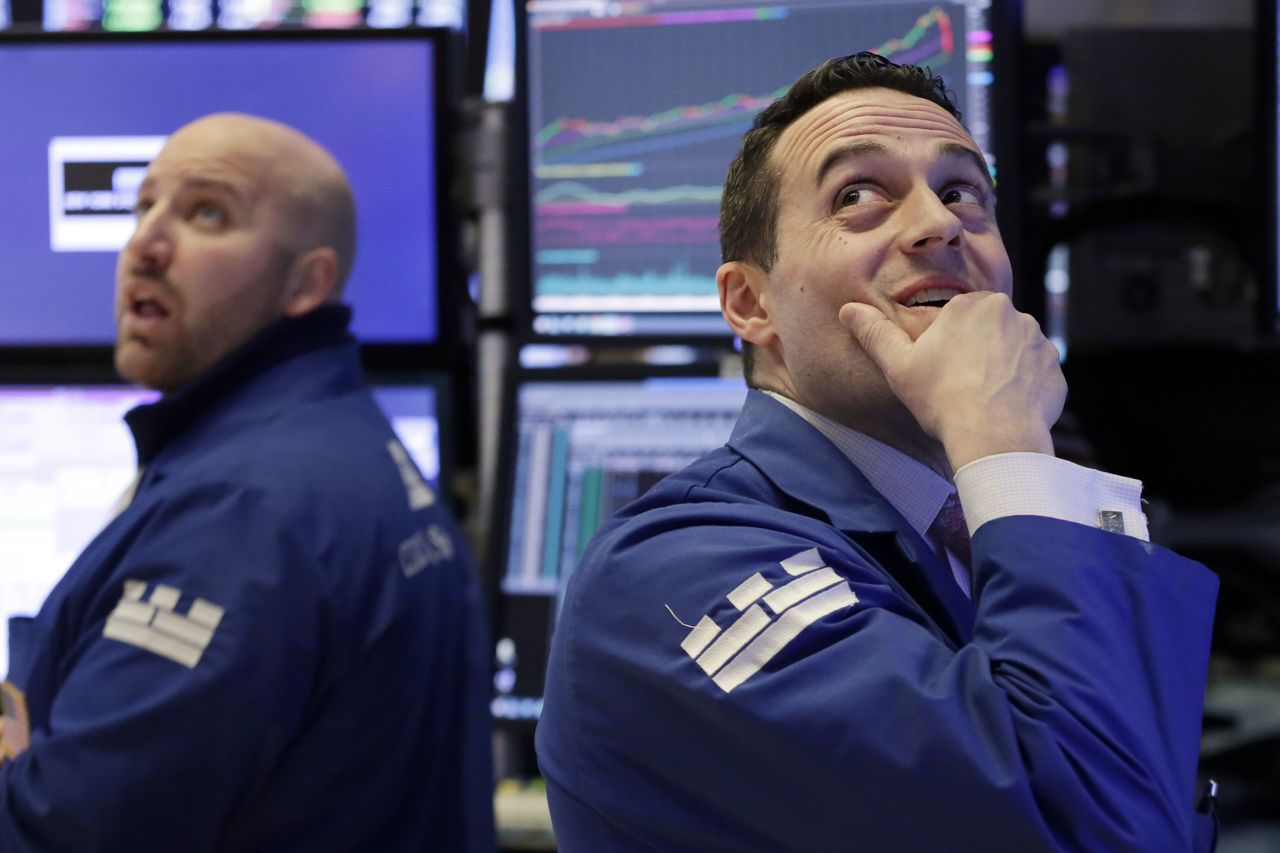 美股一周來劇烈震盪,令投資人看盤看得心驚膽跳。美聯社