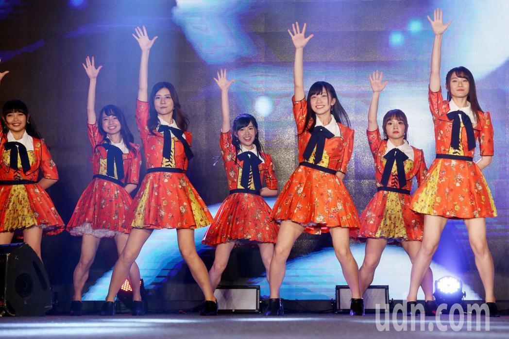cool japan展覽,AKB48 Team TPE 新曲首唱。記者林俊良/攝