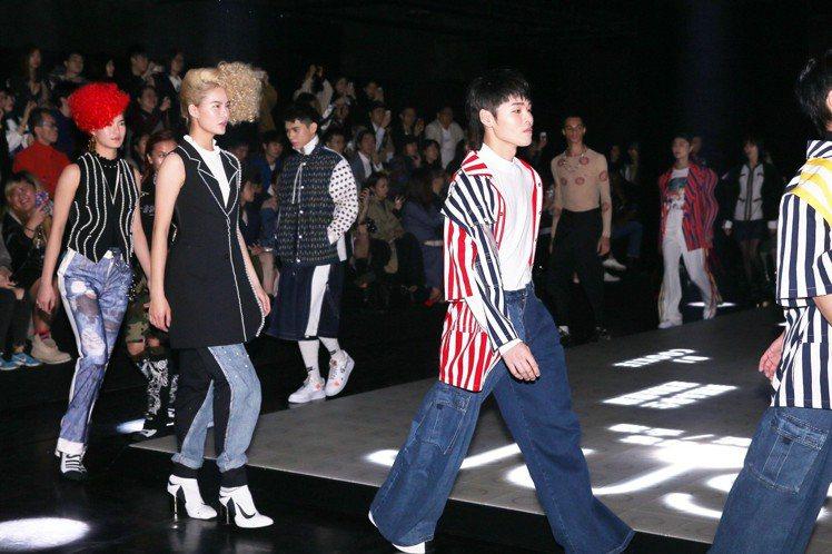 台北時裝周,JUST IN XX 2019春夏秀。圖/記者林伯東攝影