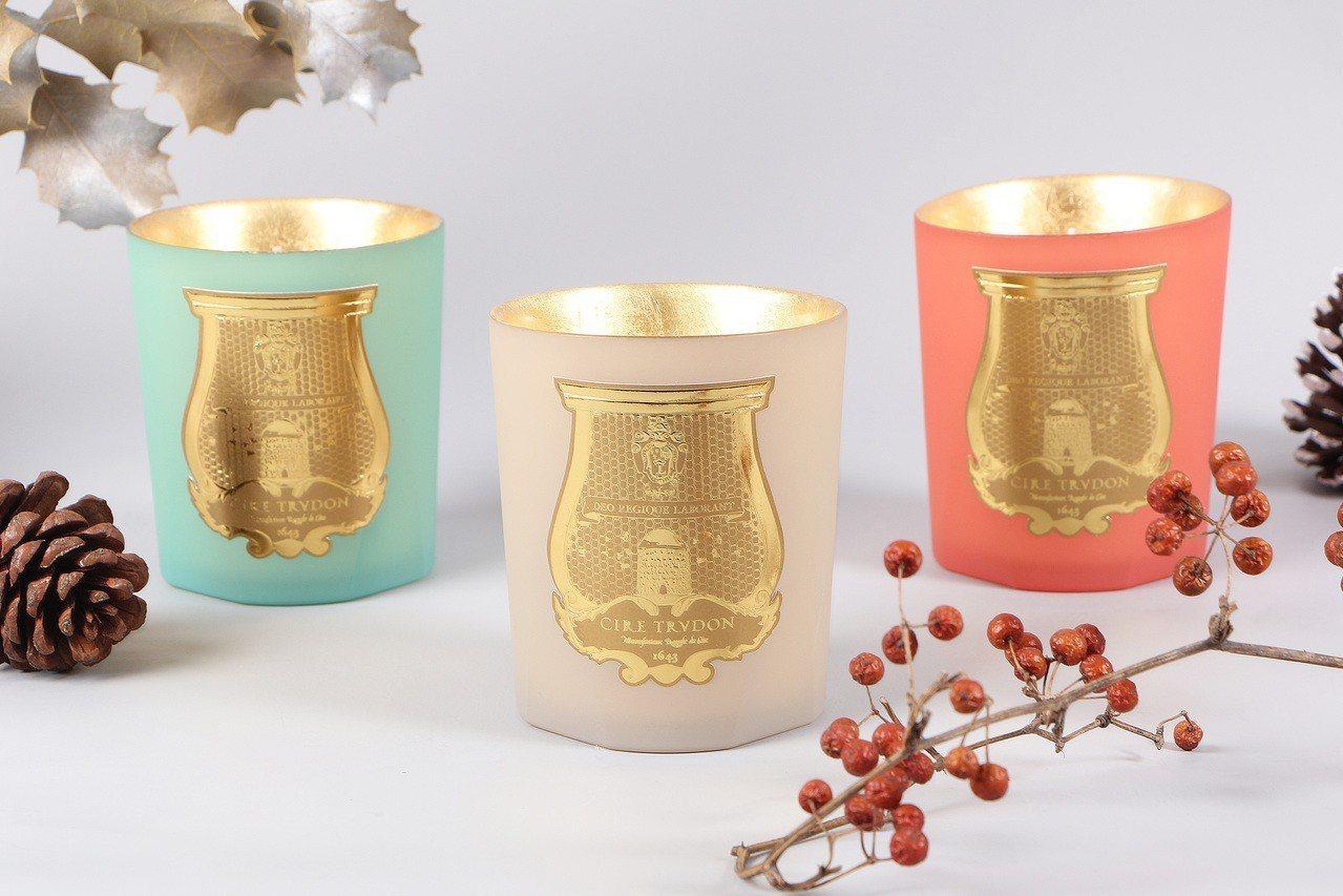 Cire Trudon耶誕節限量蠟燭系列以古埃及神話為調香靈感,售價皆為3,78...