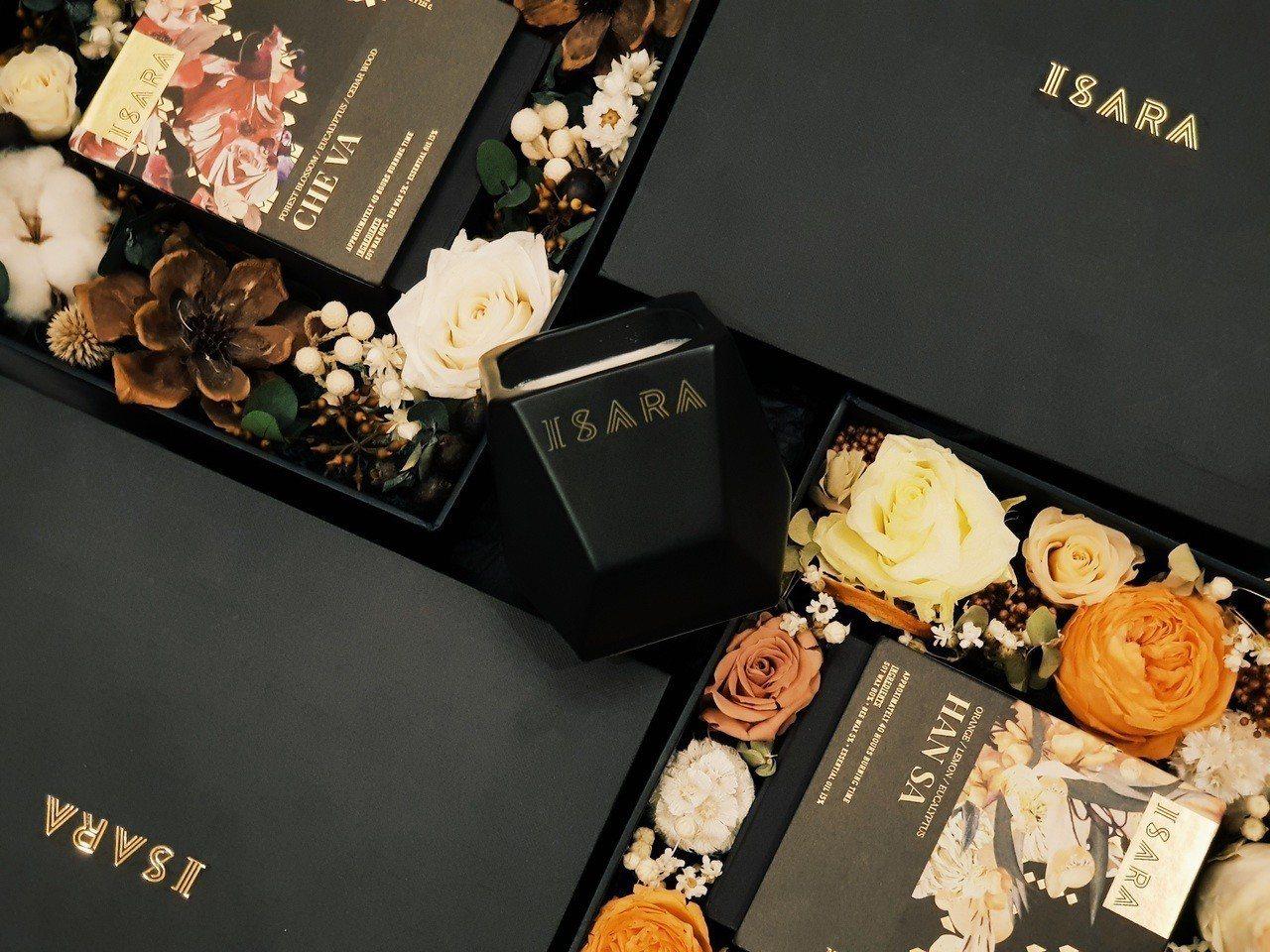 「ISARA X賣花的老女孩」耶誕限量禮盒,售價3,580元,限量20組。圖/I...
